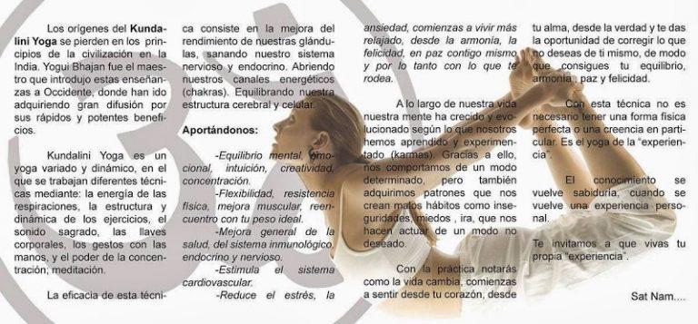 383575966 04748141KUNDALINI YOGA  Yoga restaurativo Hatha Yoga Iyengar Azucena Molina 1 768x357